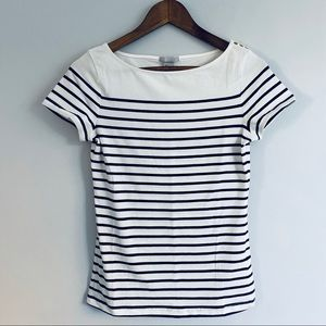 H&M Stripped Strechy T-Shirt